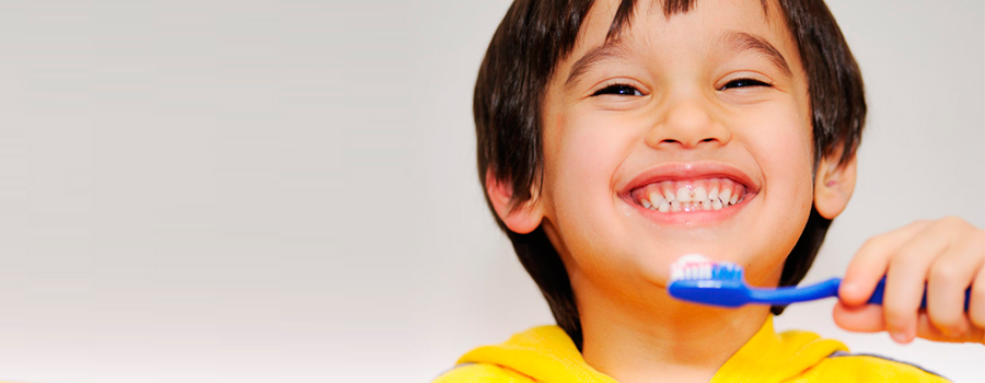 Proper oral hygiene should start at a young age, to create a habit that lasts a lifetime.